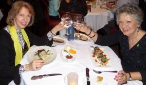 Lavonne at Dinner